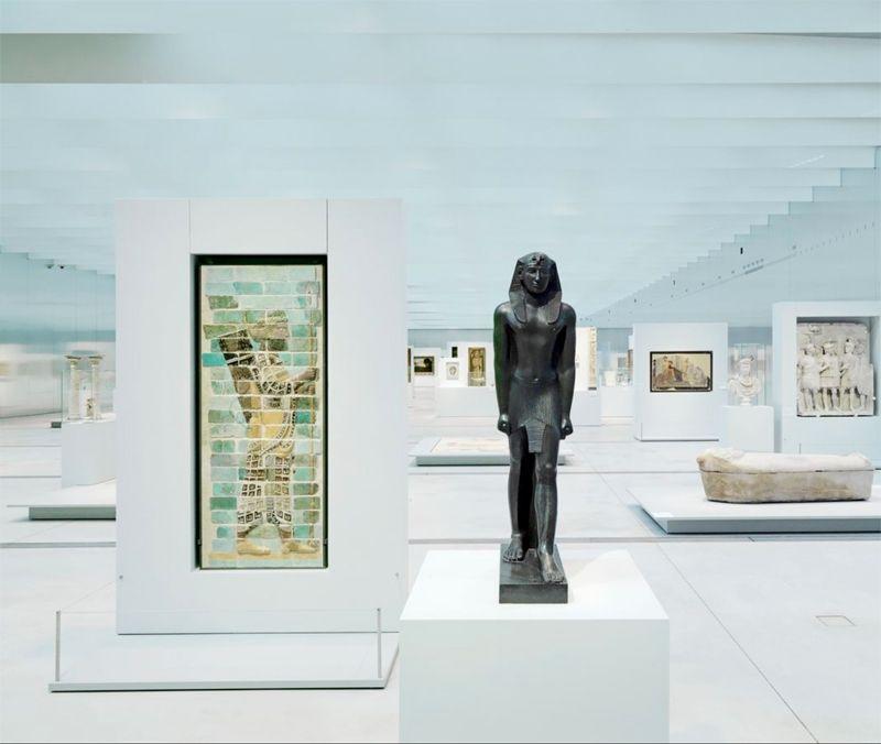 Der Louvre–Lens macht die neuartige Erfahrung von myEXPO.